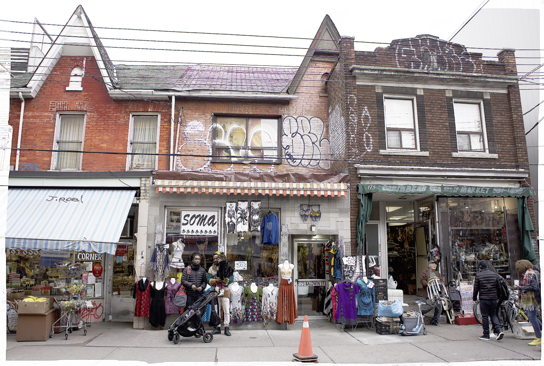 Baldwin Street near Augusta Ave., Toronto