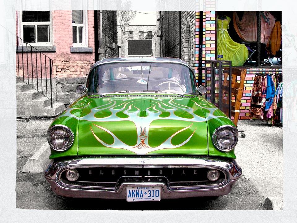 Vintage Car, Kensington Market