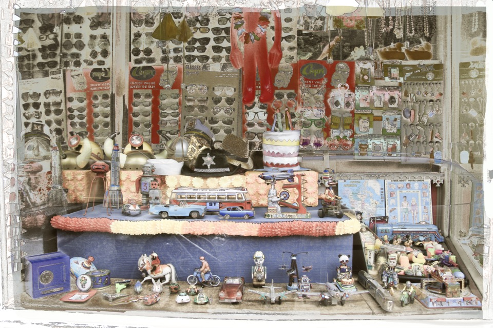 Vintage Toy Shop Window